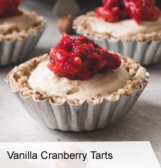 VegNews.VanillaCranberryTarts