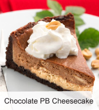 VegNews.ChocolatePBCheesecake