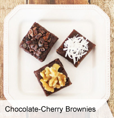 VegNews.ChocolateCherryBrownies