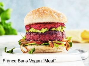 VegNews.FranceBansVeganMeat