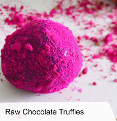 VegNews.RawChocolateTruffles