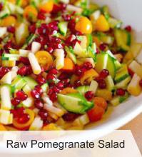 VegNews.RawPomegranateSalad