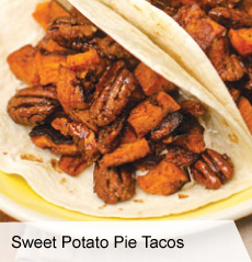 Sweet Potato Pie Tacos