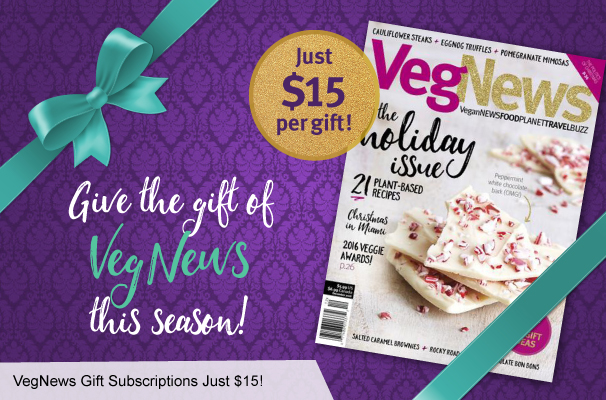 VegNews Gift Subscriptions Just 15 3