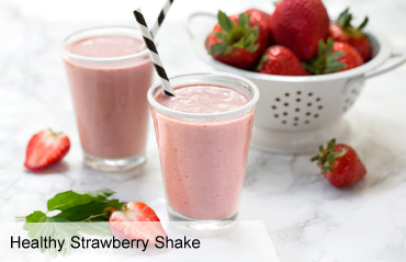 VegNews.HealthyStrawberryShake