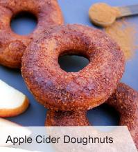 VegNews.AppleCiderDoughnuts