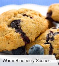 VegNews.WarmBlueberryScones