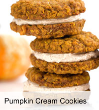 VegNews.PumpkinCreamCookies