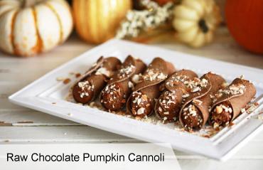 Raw Chocolate Pumpkin Cannoli 3