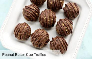 VegNews.PeanutButterCupTruffles