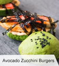 VegNews.AvocadoZucchiniBurgers