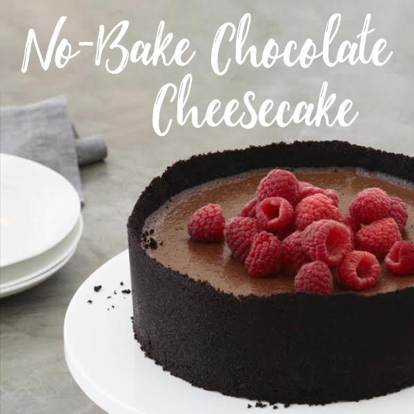 VegNews.NoBakeChocolateCheesecake