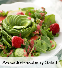 VegNews.AvocadoRaspberrySalad