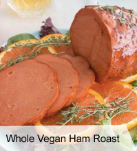 VegNews.WholeVeganHamRoast