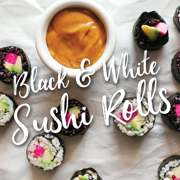 VegNews.BlackRiceSushiRolls