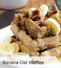 VegNews.BananaOatWaffles
