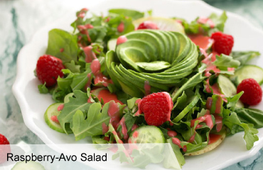 VegNews.RaspberryAvoSalad