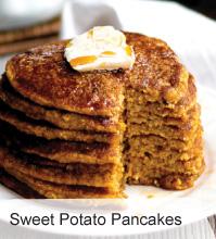 VegNews.SweetPotatoPancakes