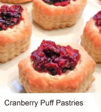VegNews.CranberryPuffPastries