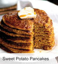 VegNews.SweetPotatoPancakes