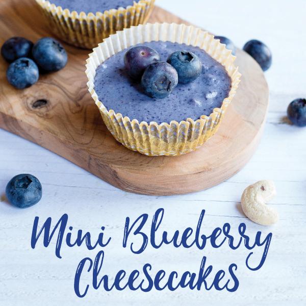 VegNews.VeganMiniBlueberryCheesecakes