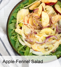 VegNews Apple Fennel Salad