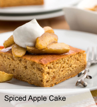 VegNews Spiced Apple Cake