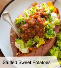 VegNews Stuffed Sweet Potatoes